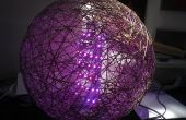 Bola de discoteca de tira de LED RGB