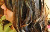 ¿Cómo lograr grandes rizos en cabello largo