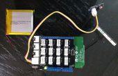 Sensor de luz LinkitONE con interfaz Web