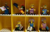 LEGO Minifig vitrina mod para minifigs de Simpsons
