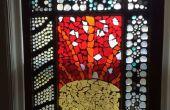 Cómo hacer una ventana de vidrio de mosaico