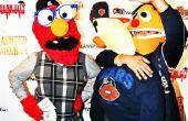 Elmo, Bert y Ernie
