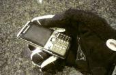 Teléfono celular para las manos enguantadas o dedos gordos