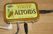 """Altoids lata 1/8"""" estéreo mezclador"""