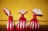 Envoltura de caramelo de Origami: Los cantantes de ópera!