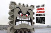 Vida real Super Mario concreto Thwomp!