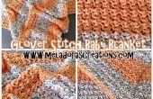 Glover puntada manta – patrón Crochet gratis y tutoriales en vídeo