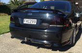Teñido de cola luces Ford Falcon Xr6