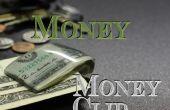 Clip del dinero de la cuenta de dólar