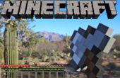 Cómo hacer un hacha de Minecraft