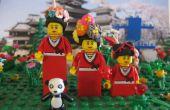 LEGO Mini figura pelo