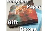 Reciclado de cajas de regalo de papel