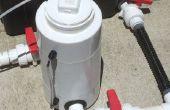 Aquaponic BIO-REACTOR - parte de un diseño de unidad balcón