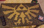 Mesa de centro de Zelda baldosa mosaico