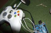 Xbox de mod controlador del 360 Arduino usando (MW3)