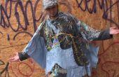 Cómo hacer un Poncho de lluvia de una cortina de ducha