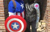 Camiseta Capitán América - cómic clásico!