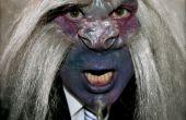 Maquillaje y prótesis de la criatura