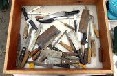 Restauración de viejos cuchillos de cocina