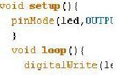 Tutoriales de programación simples basados en Arduino: 1 con LED