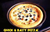 Pizza fácil rápido