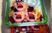 Steampunk tres pequeños cerdos Bento caja de Gena Rumple