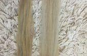 Blanqueador de cabello hecho casero (sólo para extensiones)