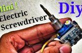 """Herramienta del destornillador eléctrico Mini en un llavero! -""""Destornillador eléctrico más pequeño del mundo"""""""