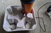 SPYDRINKZ cargador/soporte de vasos-vuelta A comida rápida apoyavasos en un cargador de teléfono!