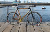 Construyendo una bicicleta de bambú de fibra de carbono de cero