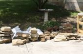 New Pond Install with waterfall