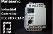 Mi Panasonic PLC FPX C14 R y Arduino