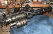 Hacer un minigun M134 del apoyo (de basura)