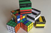 La impresionante caja de rompecabezas de papel: Cubo de Rubik o calendario