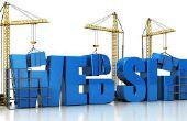 Cómo crear un sitio Web