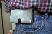 IPhone caso de Metal pulido