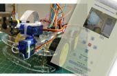 IoT: Frambuesa Pi Robot con control remoto de cámara Video Streamer y Pan/Tilt Internet