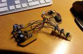 Corriente constante LED RGB fade efecto con transistores