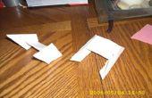 Cazas TIE de origami