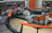 Star Trek Enterprise puente Playset