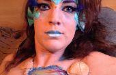 Maquillaje de Halloween de sirena