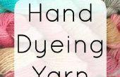 Guía del principiante a mano teñido hilado