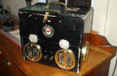 Caja del altavoz de Steampunk - mi Instructable primera