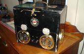 Caja del altavoz de Steampunk - mi Instructable primera