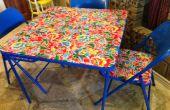 Crear una nueva tabla de elaboración; Upcycle asqueroso viejo mesa