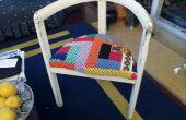 Cirugía estética para una silla de threelegged