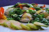 Ravioli al horno - Caciatelli o Casciatelli Molisanos - una variación de este delicioso plato dulce o salado. Receta orgánica