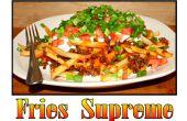 Cómo hacer papas fritas Supremo