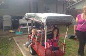 Autopropulsadas de Kiddo carro de viejo jardín carro y movilidad scooter con un presupuesto de $100 a $200.