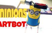 BRICOLAJE para los niños: secuaces artbot (fácil tutorial)
